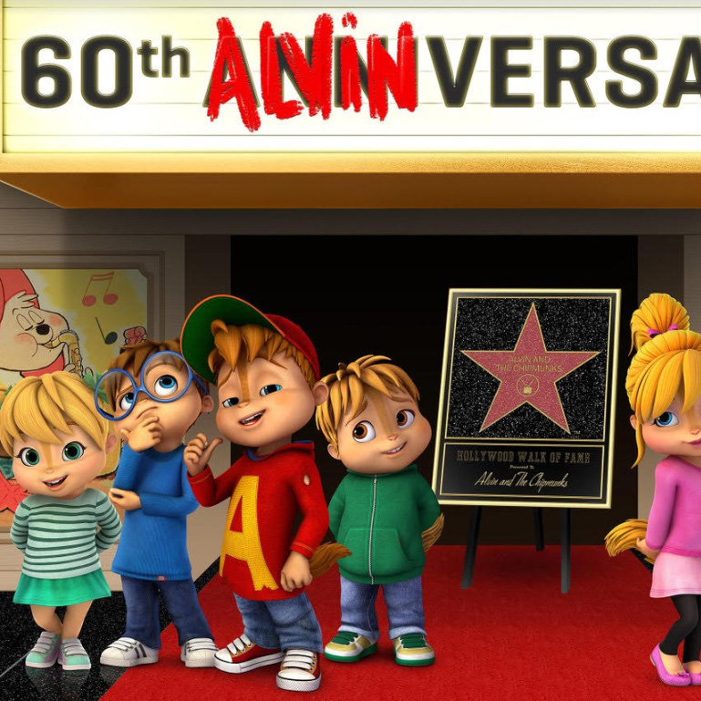 Alvin and the Chipmunks Receive Star on the Hollywood Walk Of Fame